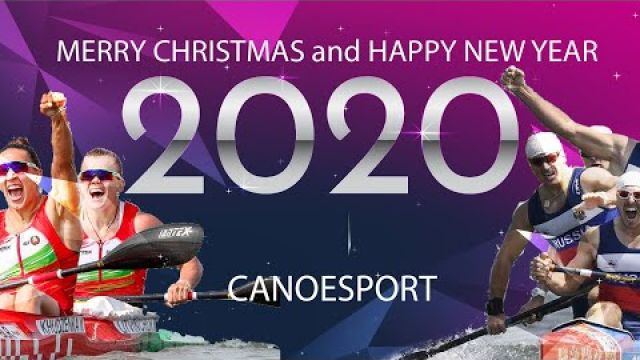 Merry Christmas and Happy New Year Canoe Sport 2020