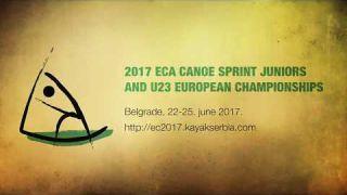 2017 ECA Canoe Sprint Juniors and U23 European Championships TEASER