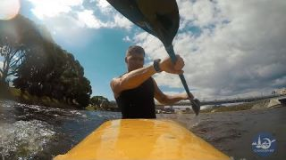 Kayak slide