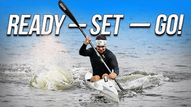 How to improve your starts in kayak? Как сделать старт в байдарке?