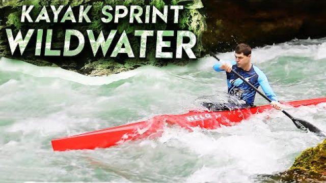 Kayak Sprint Wildwater - Гребля на байдарке в бурной воде