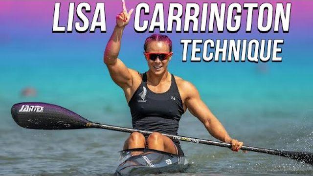 Lisa Carrington Technique and Canoe Sprint Motivation