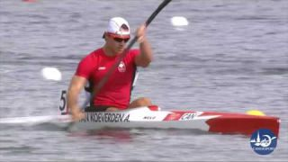 Canoe Sprint Athletes Technique