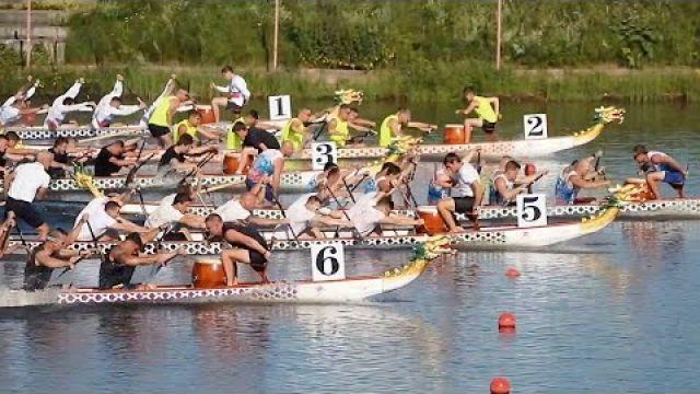 Чемпионат России по гребле на лодках Дракон 2021