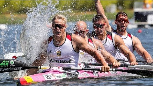 K4 and C4 Canoe Kayak Sprint Motivation HD