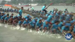Bangladesh Traditional Boat Race (long boat)