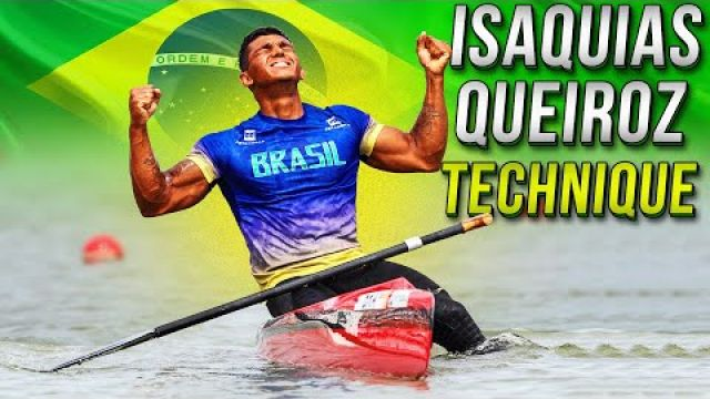 Isaquias Queiroz Canoe Sprint Athlete Technique and World Champion Motivation