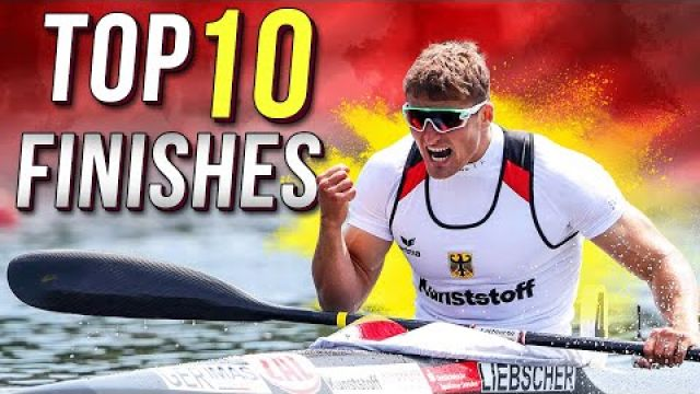 TOP 10 finishes in canoe kayak sprint - ТОП 10 финишей в гребле на байдарках и каноэ